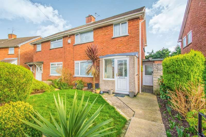 3 Bedrooms Semi Detached House for sale in Cornelly Close, CARDIFF