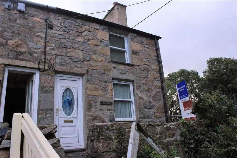 2 Bedrooms Terraced House for sale in Green Terrace, Trefor, Gwynedd