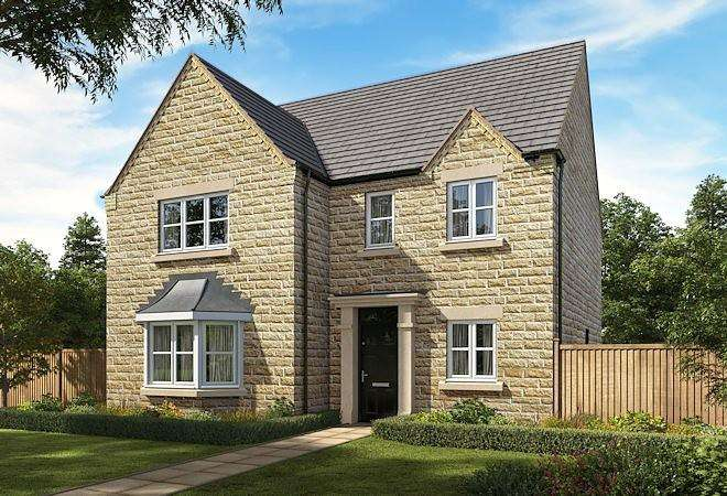 4 Bedrooms Detached House for sale in Chatsworth Grange, Hibbert Lane, Marple