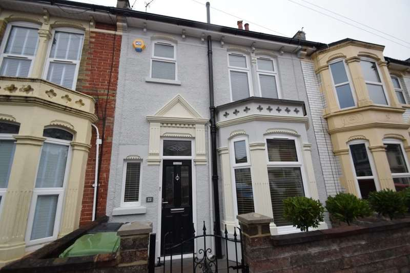 3 Bedrooms Terraced House for rent in Paddington Road, Portsmouth, PO2