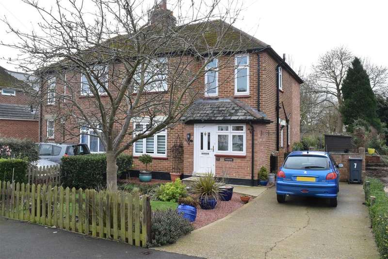 3 Bedrooms Semi Detached House for sale in Prykes Drive, Chelmsford