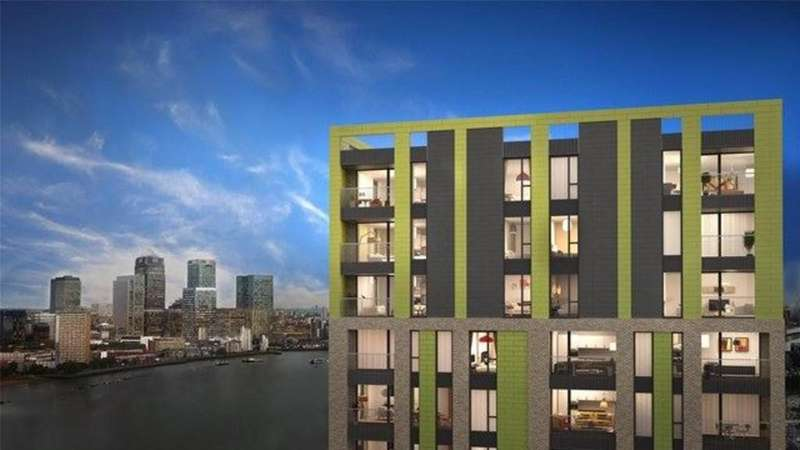 2 Bedrooms Apartment Flat for sale in Buchanan Block, Precision ,Greenwich