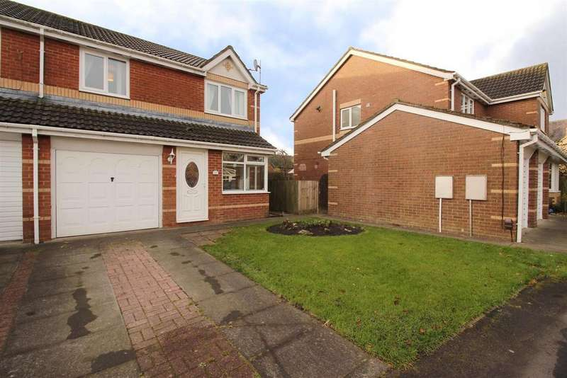 3 Bedrooms Semi Detached House for sale in Woodlands Grange, Forest Hall, Newcastle Upon Tyne