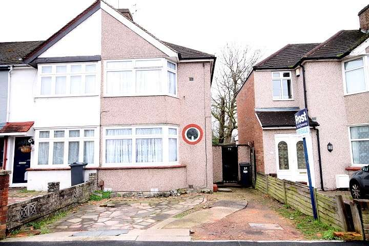 2 Bedrooms End Of Terrace House for sale in Fernside Avenue, Feltham, TW13