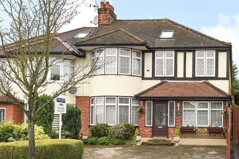 5 Bedrooms Semi Detached House for sale in Kings Avenue, Woodford Green, IG8