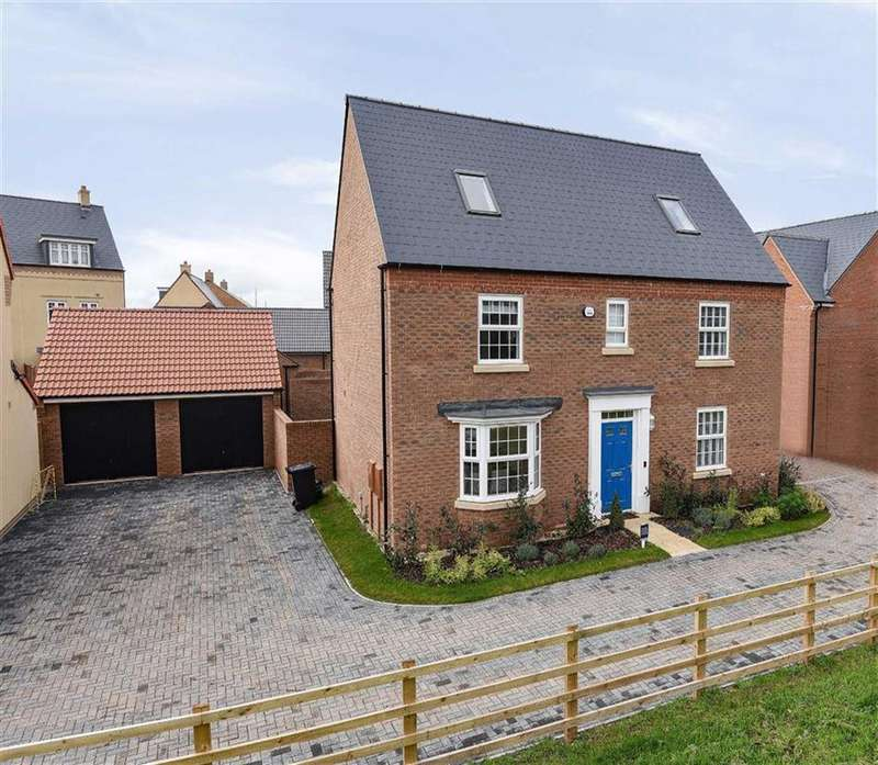 5 Bedrooms Detached House for sale in Bruford Drive, Cheddon Fitzpaine, Taunton, Somerset, TA2
