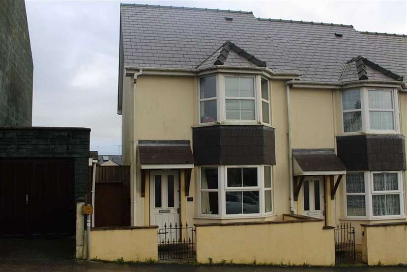 2 Bedrooms End Of Terrace House for sale in Treowen Road, Pembroke Dock
