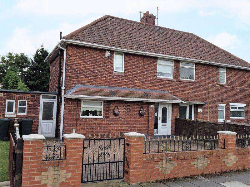 2 Bedrooms Semi Detached House for sale in The Greenway, Thorntree, Middlesbrough, TS3 9NU