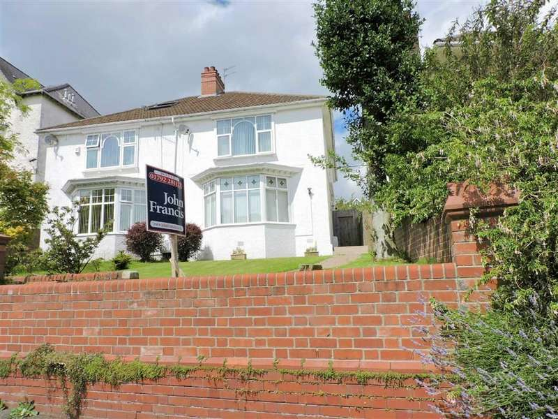 3 Bedrooms Semi Detached House for sale in Queens Road, Sketty