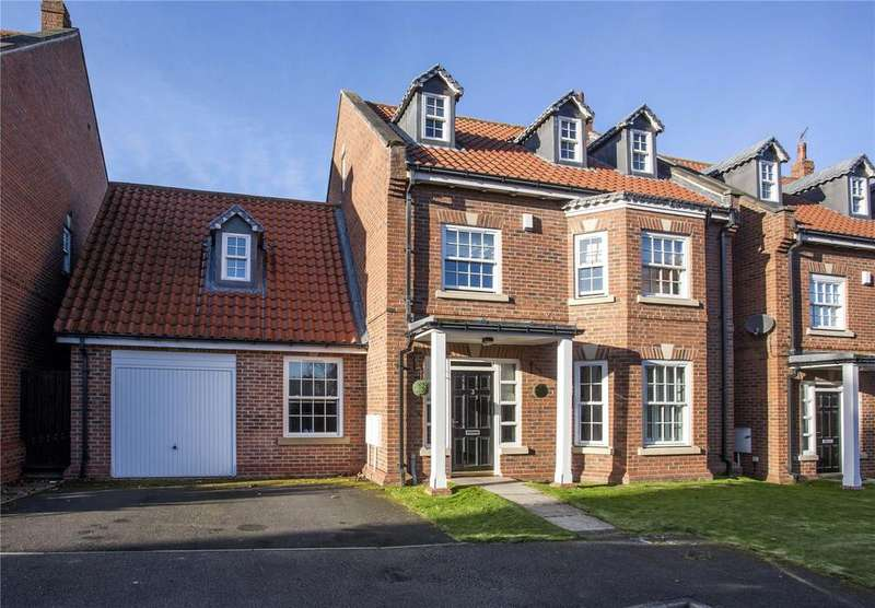 4 Bedrooms Detached House for sale in Rymers Court, Darlington, County Durham, DL1