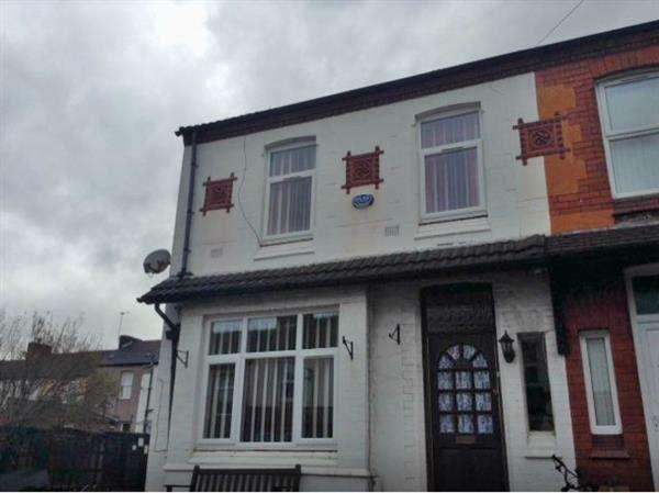 4 Bedrooms Semi Detached House for rent in Sherlock Lane, Wallasey