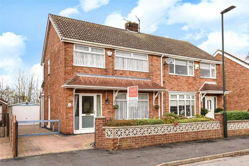 3 Bedrooms Semi Detached House for sale in Peaks Avenue, New Waltham, DN36