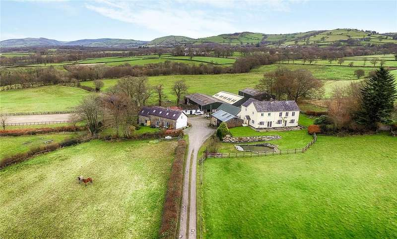 4 Bedrooms Farm Commercial for sale in Talley, Llandeilo, Carmarthenshire