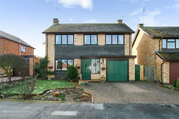 4 Bedrooms Detached House for sale in The Chase, Great Glen, Leicester