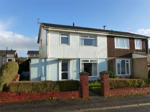 3 Bedrooms Semi Detached House for sale in St Illtyds Road, Bridgend, Bridgend, Mid Glamorgan