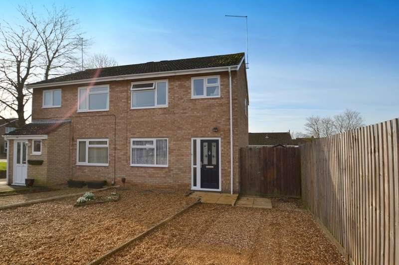 3 Bedrooms Semi Detached House for sale in Acre Lane, Spring Park, Northampton, NN2