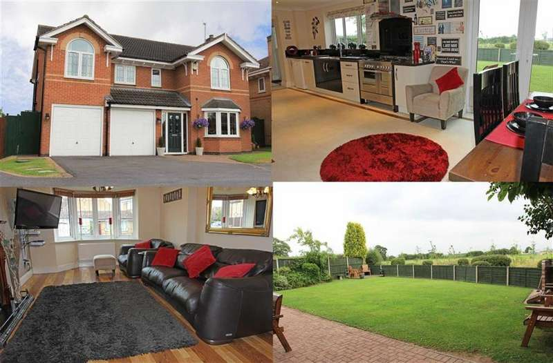 5 Bedrooms Detached House for sale in Yew Close, Leicester Forest East, Leicester