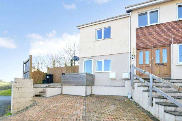 2 Bedrooms End Of Terrace House for sale in Foxley Crescent, Newton Abbot, Devon