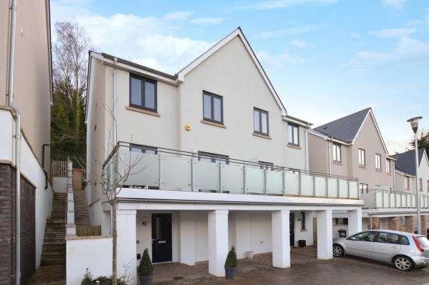 4 Bedrooms Semi Detached House for sale in Webster Close, Newton Abbot, Devon