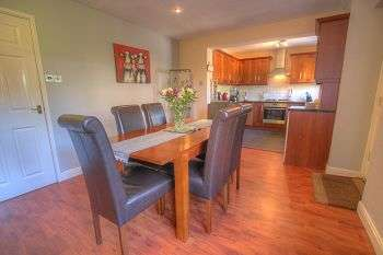 3 Bedrooms Detached House for sale in Romsey Grove , Lemington Rise, Newcastle Upon Tyne , NE15 8TD
