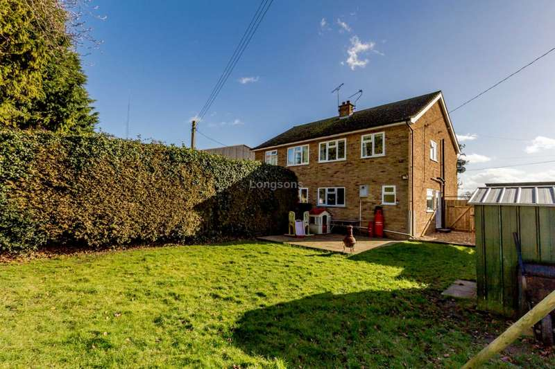 3 Bedrooms Semi Detached House for sale in Crowhall Farm Houses, Gooderstone