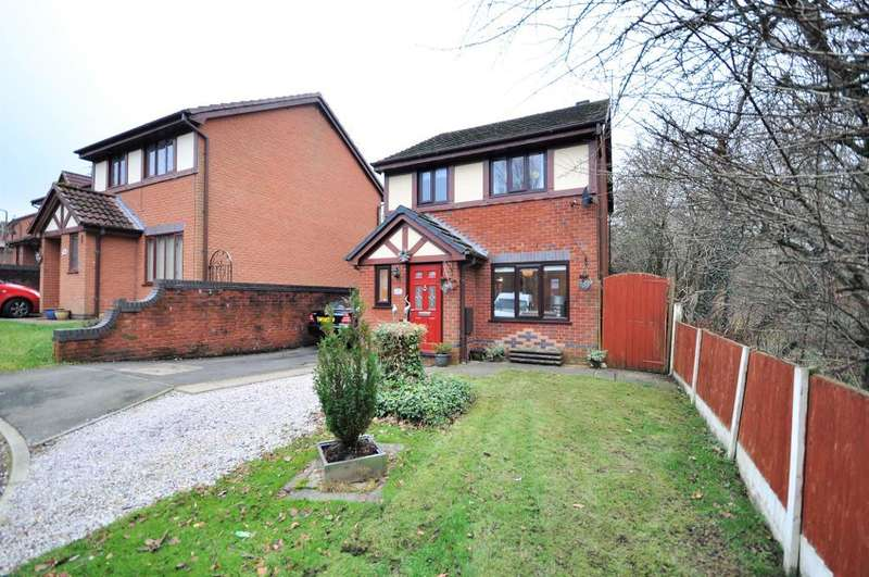 3 Bedrooms Detached House for sale in Peachtree Close, Fulwood, Preston, Lancashire, PR2 9NR