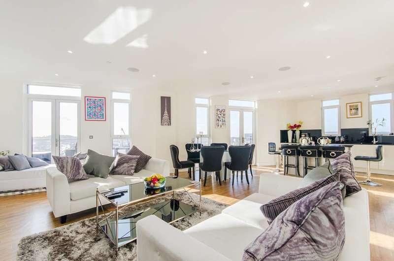 3 Bedrooms Penthouse Flat for rent in Hatton Road, Alperton, HA0