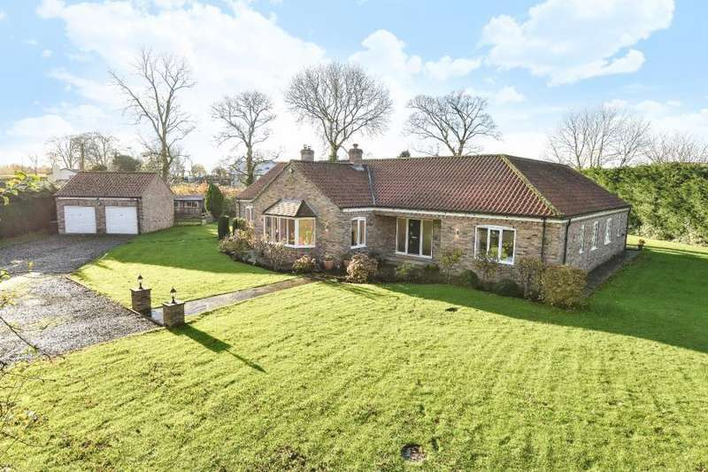 4 Bedrooms Detached Bungalow for sale in CARTHORPE, BEDALE, DL8 2LP