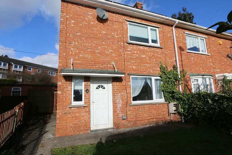 2 Bedrooms Semi Detached House for sale in Waverley Avenue, Bedlington, Northumberland, NE22 5HG