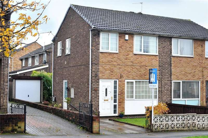 3 Bedrooms Semi Detached House for sale in Ashbourne Way, Bradford, West Yorkshire, BD2