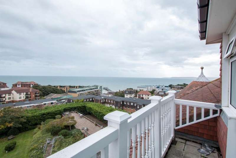 3 Bedrooms Penthouse Flat for sale in Bulington Mansions, Owls Road, Bournemouth BH5