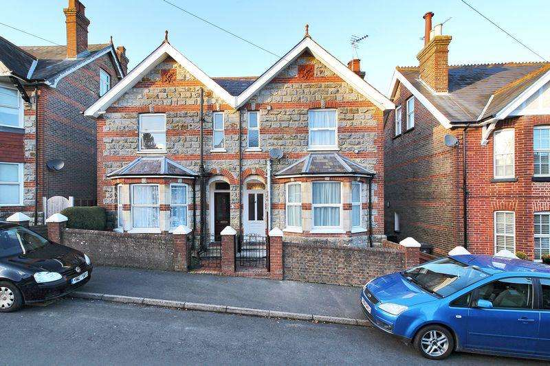 3 Bedrooms Semi Detached House for sale in Croham Road, Crowborough, East Sussex