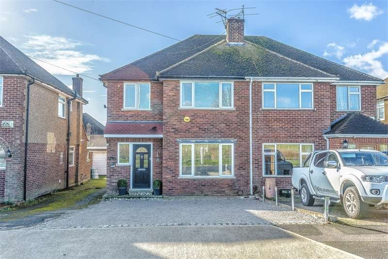 3 Bedrooms Semi Detached House for sale in Harvil Road, Harefield, Middlesex