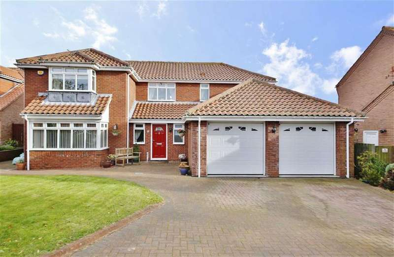 5 Bedrooms Detached House for sale in Lodgeside Meadow, Burdon, Sunderland, SR3