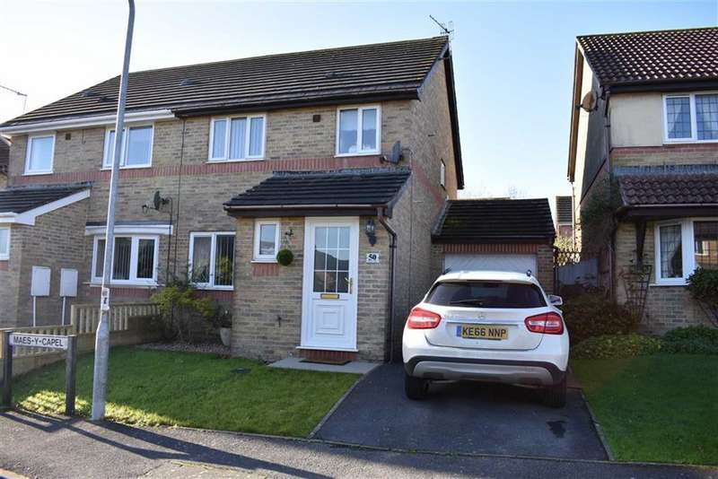 3 Bedrooms Semi Detached House for sale in Maes Y Capel, Pembrey