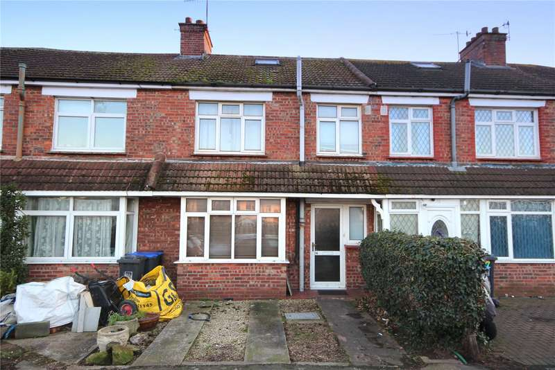3 Bedrooms Terraced House for sale in Freshbrook Road, Lancing, West Sussex, BN15