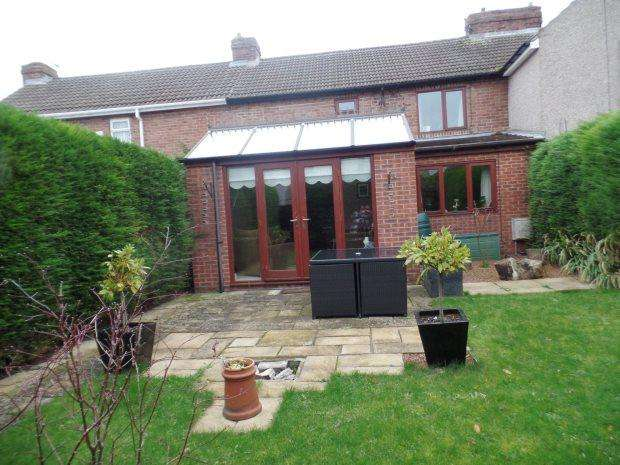 3 Bedrooms Terraced House for sale in PALMER STREET, SOUTH HETTON, PETERLEE AREA VILLAGES