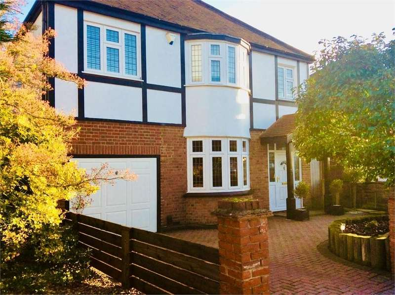 5 Bedrooms Detached House for sale in Longlands Road, Sidcup, Kent