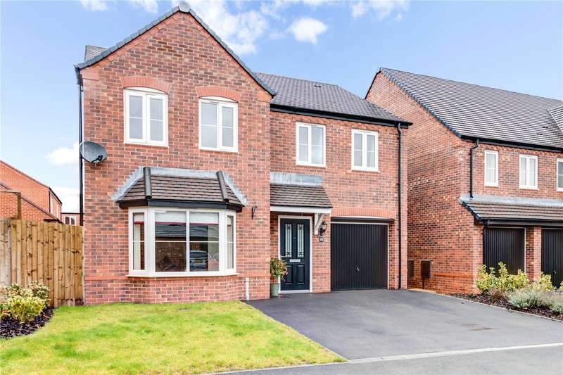 4 Bedrooms Detached House for sale in Minerva Crescent Kempsey Worcester WR5