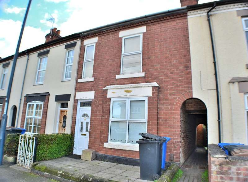 2 Bedrooms Terraced House for sale in Baker Street , Alvaston, Derby DE24