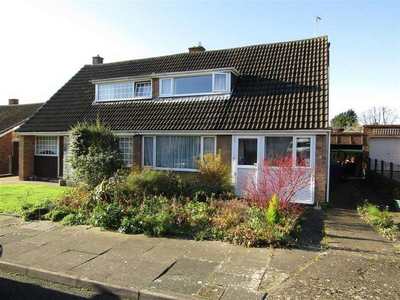 3 Bedrooms Semi Detached House for sale in Roundwood Close, Hitchin, SG4