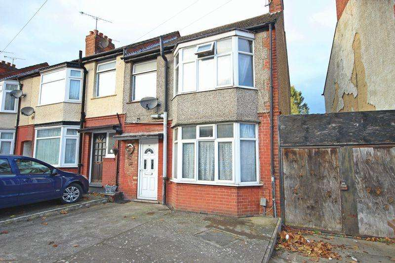 3 Bedrooms End Of Terrace House for sale in Runley Road, Luton