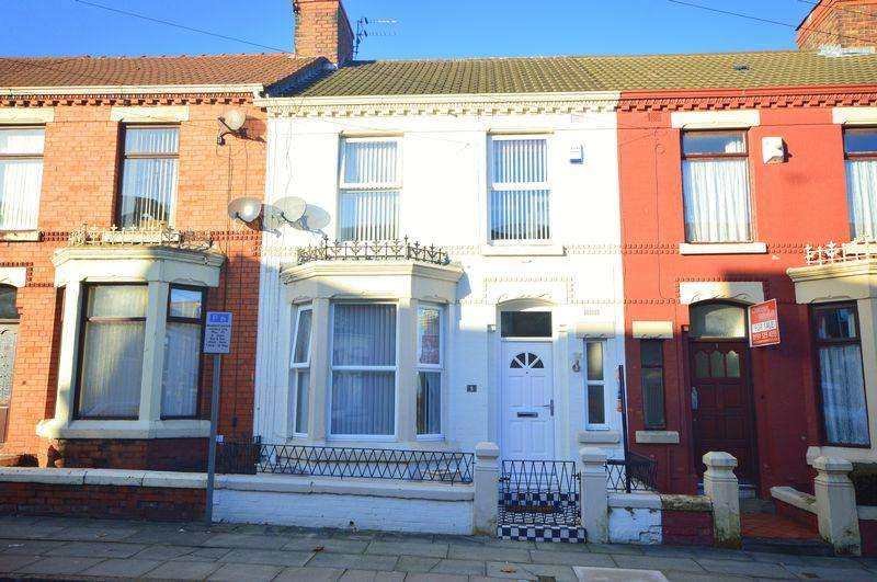 3 Bedrooms Terraced House for sale in Bingley Road, Anfield
