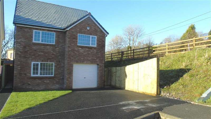 4 Bedrooms Detached House for sale in Clos Y Gat, Gorslas, Carmarthenshire, SA14