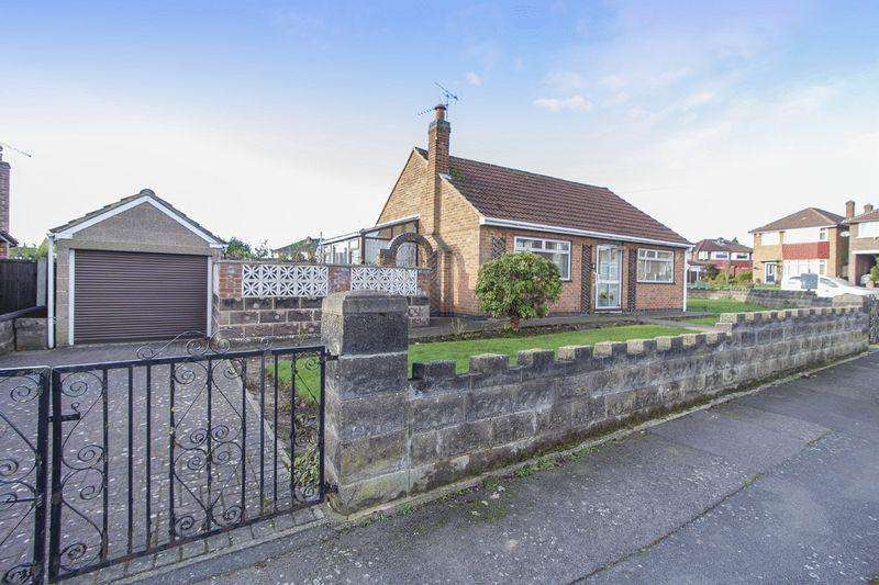 2 Bedrooms Detached Bungalow for sale in SHERWOOD AVENUE, CHADDESDEN