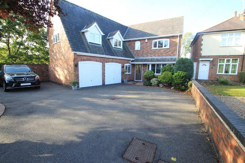 5 Bedrooms Detached House for sale in Welford Road, Wigston