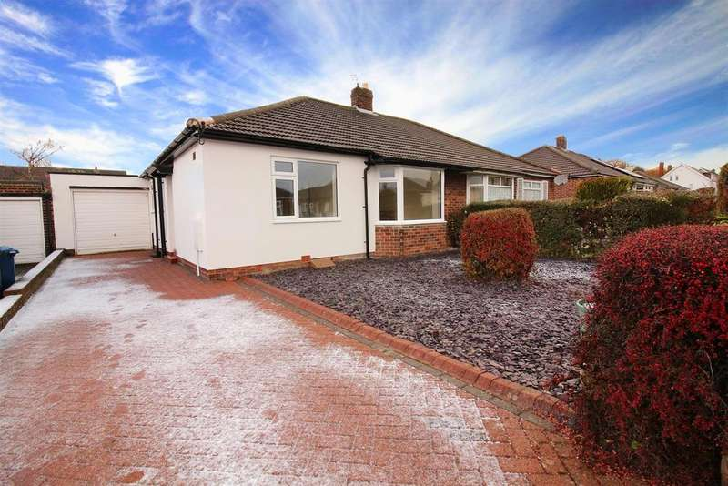 2 Bedrooms Semi Detached Bungalow for sale in South Bend, Brunton Park, Gosforth