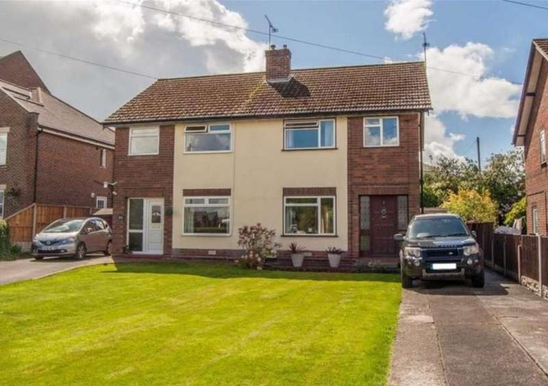 3 Bedrooms Semi Detached House for sale in Boughton Hall Avenue, Chester