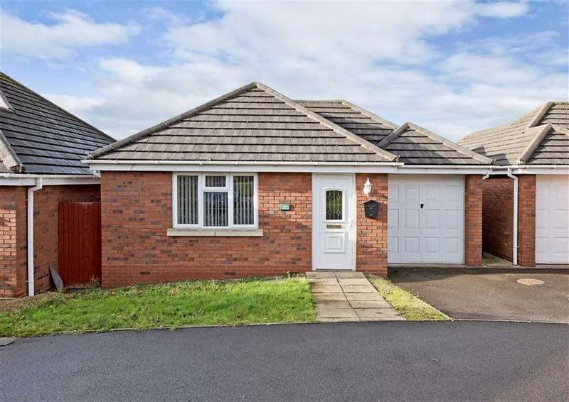 2 Bedrooms Detached Bungalow for sale in 203b, Common Road, Wombourne, Wolverhampton, South Staffordshire, WV5