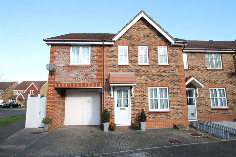4 Bedrooms End Of Terrace House for sale in Snowdrop Close, Littlehampton, West Sussex, BN17
